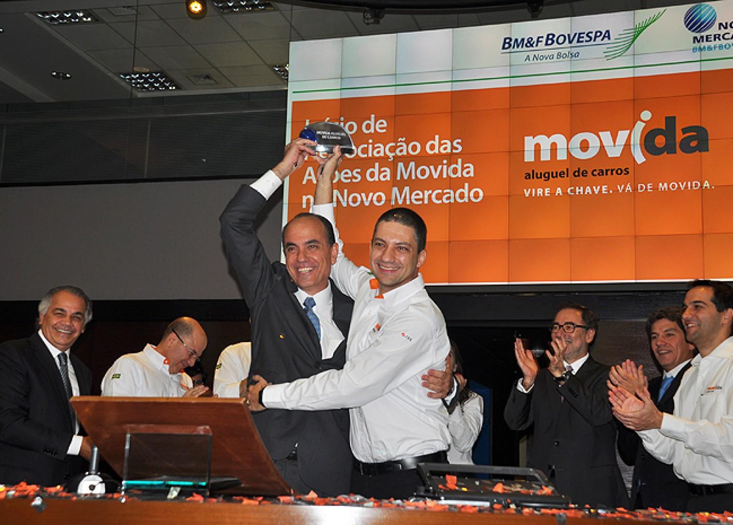 Movida movimenta R$ 645 milhões com IPO; locadora estreia hoje na Bovespa