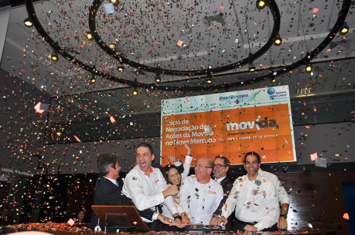 Movida inicia hoje ações na Bovespa