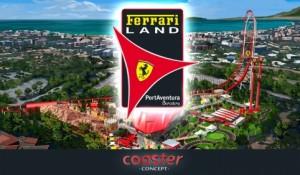 Ferrari Land será inaugurado em 7 de abril na Espanha