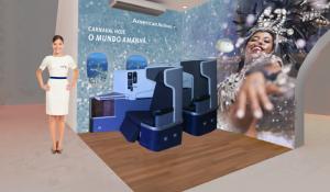 American Airlines faz ações de divulgação no carnaval do Rio