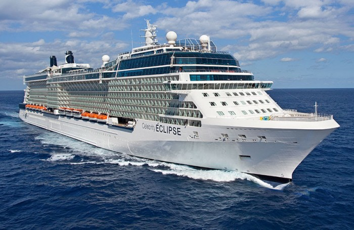 Navio Eclipse, da Celebrity Cruises, é um dos grandes trunfos em questão de luxo da companhia (Foto: Divulgação)