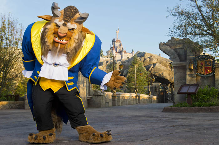 "The Beast welcomes guests to his castle in the Magic Kingdom, where Be Our Guest Restaurant magically takes diners into the grand ballroom, Rose Gallery, and mysterious ""West Wing"" of the castle of the Beast for French-inspired cuisine. The stylish restaurant serves quick-service lunch and table-service dinner in New Fantasyland at Walt Disney World Resort in Lake Buena Vista, Fla. (Matt Stroshane, photographer)"