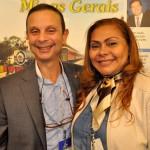 Abdellatif Achachi, diretor do Escritório Oficial de Turismo do Marrocos, com Oreni Braga, presidente da Amazonastur