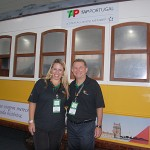 Adriana Tolentino e Luis Quaggio, da Tap