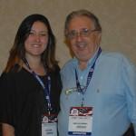 Beatriz Paredes e David Leslie, de Tampa Bay
