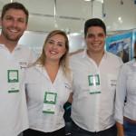 Bruno Delfini, da BWT, Caroline de Souza, Kaue Medolage e Janaina Reatti, da Serra Verde Express