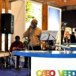 Cabo Verde teve música ao vivo em seu estande