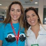 Danielle Meirelles, da FRT Operadora com Sabrina Moretti, gerente produto da Pullmantur da R11