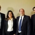 Equipe da Comissao de Turismo da OAB, comandada por Hamilton Vasconcelos