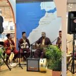 Estande do Marrocos uma vez mais mostra sua cultura