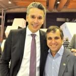 Felipe Carreras, secretário de Turismo de PE, e Adaílton Feitosa, presidente da Empetur