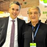 Felipe Carreras, secretário de Turismo de PE, e Arialdo Pinho, secretário de Turismo do CE
