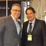 Fernando Guariza, da Tap, e José Alves, secretário de Turismo da BA