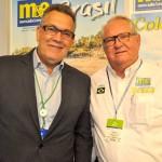 Fernando Guariza, da Tap, e Roy Taylor, do M&E