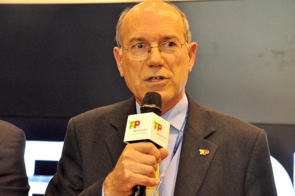 Fernando Pinto, presidente da TAP