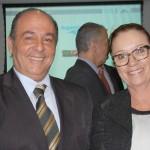 Geraldo Rocha e Cecília Ribeiro, da Abav-PR