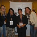 Janaina Lima, Adriana Sena, Cristina Fritsch e Karla Queiroz, da Abav Rio