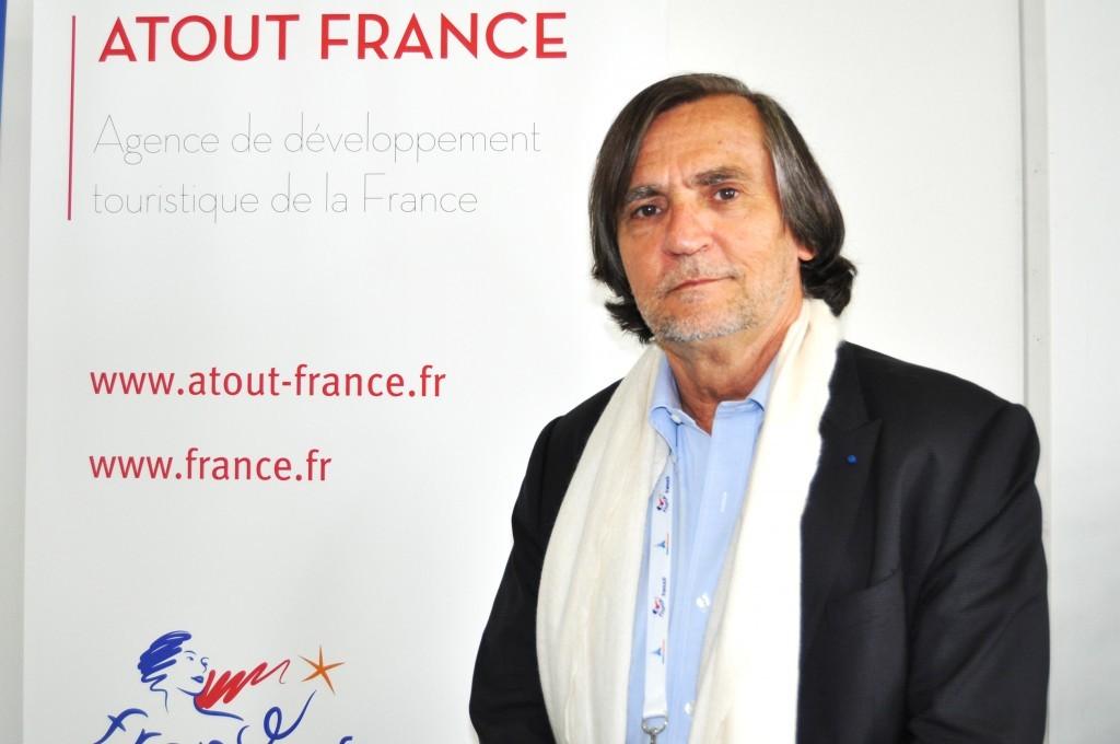 Jean-Phillipe Pérol, diretor da Atout France para as Américas