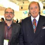 Luis Avelino, do Avelino's Restaurante, e Michel Tuma Ness, da Fenactur
