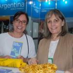 Marcela Cuesta e Maria Pierini, de Buenos Aires