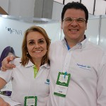 Marcia Santi e Paulo Barbosa, da Travelport