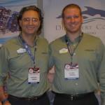 Mauricio Alexandre e Felipe Timerman, do SeaWorld