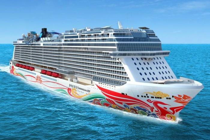 Navio de quase 169 mil tonelada foi projeto especialmente para o mercado chinês