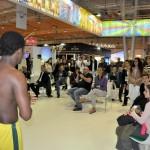 O estande do Brasil sempre faz a BTL parar com suas atrações culturais
