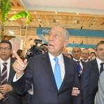 O presidente Marcelo Rebelo conheceu os pavilhões da BTL 2017