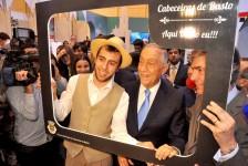 Presidente de Portugal visita a BTL 2017; veja fotos