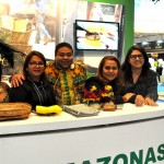 Oreni Braga, presidente da Amazonastur, com a equipe do Amazonas