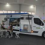 Paraná trouxe carro de informação turística para feira