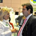 Rosa Masgrau, do M&E, e Ruy Gaspar, secretário de Turismo do RN