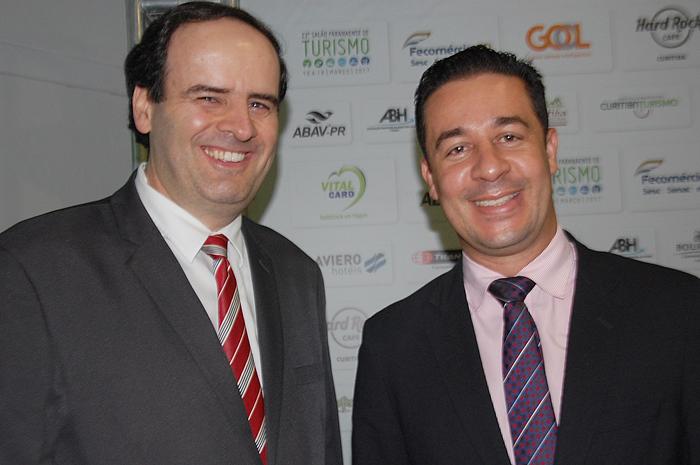 Silvio Rossi e Douglas Meneses, do Mabu Hotéis & Resorts