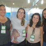 Simone Diniz, Ane Machado, Raquel Faria e Helena Peres, de Minas Gerais
