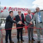Tarcísio Gargioni e autoridades da cidade oficializam a chegada do novo voo da Avianca em Foz do Iguaçu