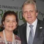 Teté Bezerra, do MTur com Edmar Bull, da Abav
