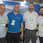 Tody Navarro, da R11 com Guilherme Gonçalves, Rafael Lickfeldt e Rodrigo Macedo, da MG Travel
