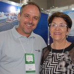 Tody Navarro, da R11 com Idelina Gonçalves, da MG Travel