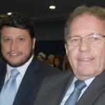 Valdir Walendowsky, da Santur com Adonai Arruda Filho, do Curitiba CVB e BWT Operadora