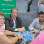 Valdir Walendowsky, da Santur em reunião com fornecedores locais