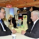 Vinicius Lummertz, presidente da Embratur, e Mario Carvalho, diretor da TAP para o Brasil