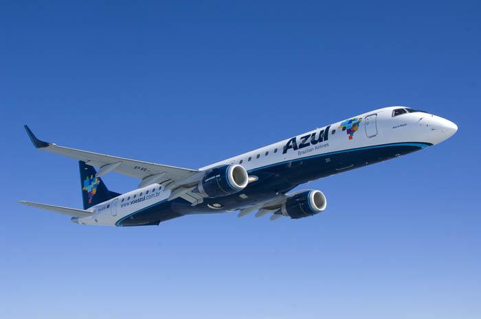 Será o primeiro voo da Azul entre os dois destinos