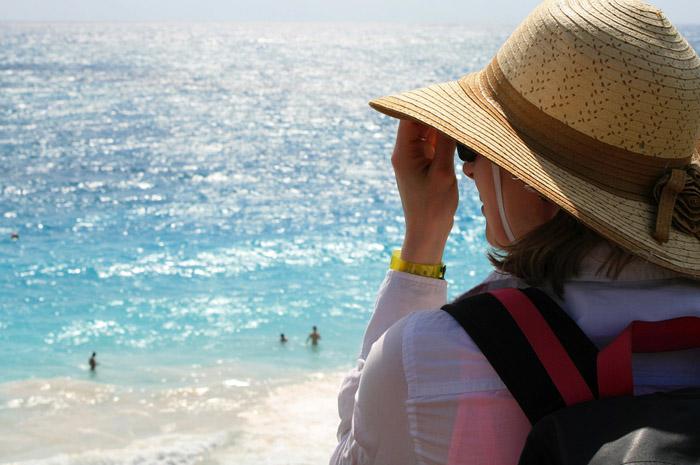 A maioria das mulheres viajantes buscam o nordeste brasileiro como destino.
