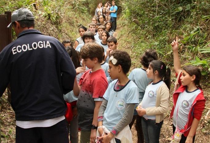 A reserva é mantida pelo resort desde 1999, e todos os anos realiza visitas com alunos de escolas da região (Foto: Divulgação)