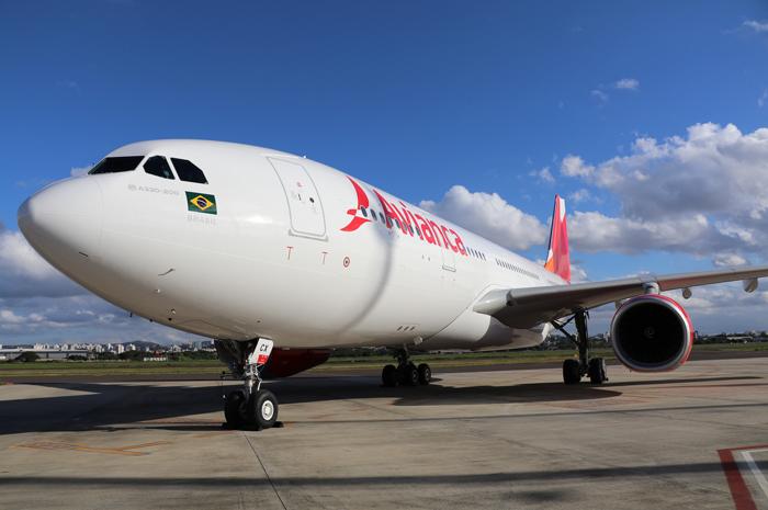 A330-200 da Avianca Brasil inicia voos regulares para Fortaleza