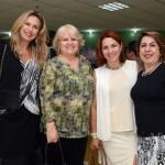 Amanda Savoia, Rosa Michelin, Martia Clélia, e Jeane D'Arc Chadi, do Expo Center Norte