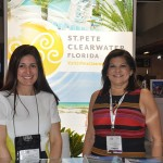Andrea Gabel e Ana Fernandez do St. Petersburg Clearwater