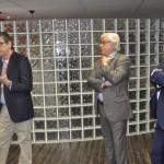 Cassio Oliveira explica como funciona o novo espaço, com Juarez Cintra Filho e Juarez Cintra Neto