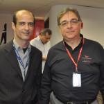 Daniel Bianchi, da Eagle Fly, com Miguel Jenotti, da Ancoradouro